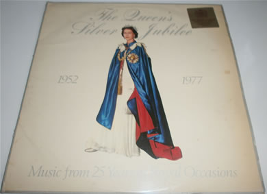 The Queens Silver Jubilee 1952-1977 Music From 25 Years Of Royal Occassions 12 Inch Vinyl