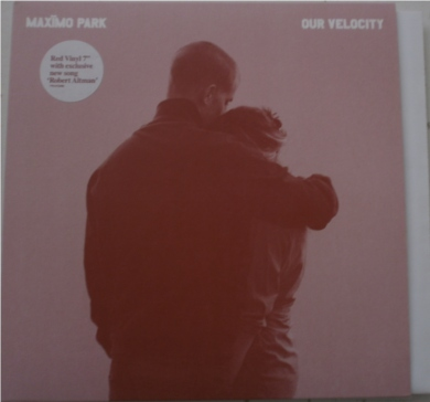 Maximo Park - Our Velocity 7 Inch Vinyl