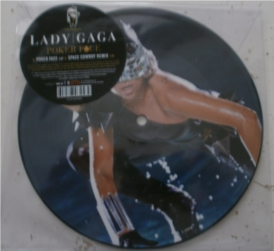 Lady Gaga - Poker Face 7 Inch Vinyl