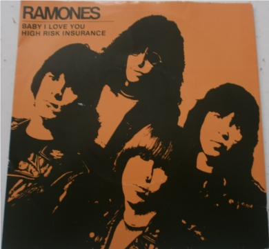 The Ramones - Baby I Love You 7 Inch Vinyl