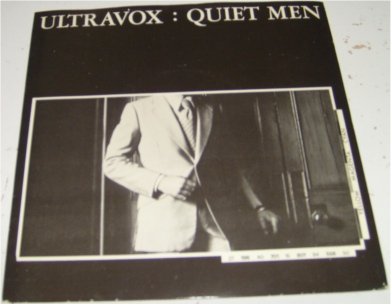Ultravox - Quiet Men 7 inch vinyl