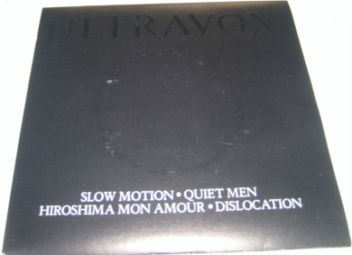 Ultravox - Slow Motion 7 inch vinyl