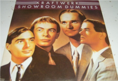 Kraftwerk - Showroom Dummies 7 inch vinyl