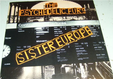 The Psychedelic Furs - Sister Europe 7 inch vinyl