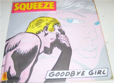 Squeeze - Goodbye Girl 7 inch vinyl