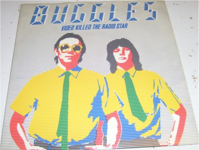 The Buggles - Video Killed The Radio Star 7 inch vinyl