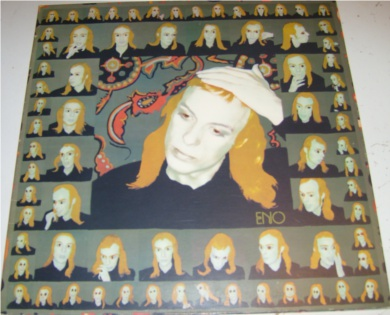 Brian Eno - Taking Tiger Mountain 12 inch vinyl