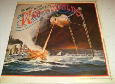 The War Of The Worlds 12 Inch Vinyl