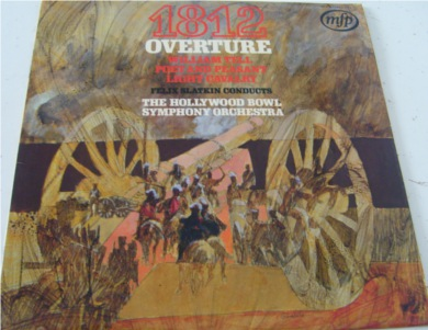 1812 Overture - The Hollywood Bowl Symphony Orchestra 12 Inch Vinyl