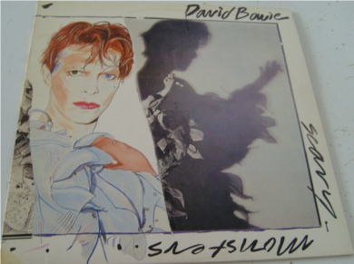 David Bowie - Scary Monsters & Super Creeps 12 inch vinyl