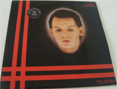 Gary Numan - Telekon - Includes 7 inch single 12 inch vinyl