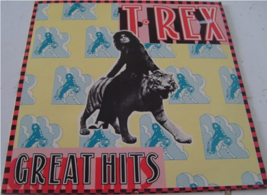 T-Rex - Greatest Hits 12 inch vinyl