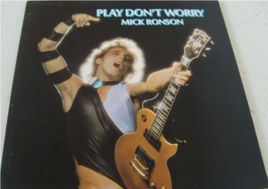Mick Ronson - Play Don't Worry 12 inch vinyl