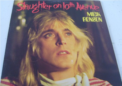 Mick Ronson - Slaughter On 10th Avenue 12 inch vinyl