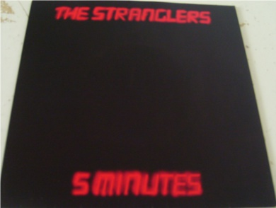 The Stranglers - 5 Minutes 7 Inch Vinyl