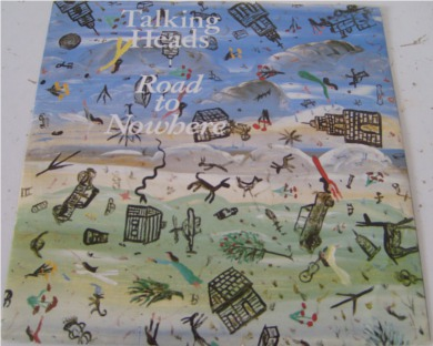 Talking Heads - Road To Nowhere 7 Inch Vinyl