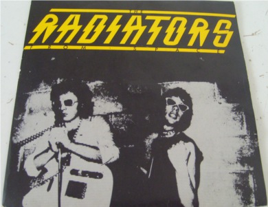 The Radiators From Space - Television Screen 7 Inch Vinyl