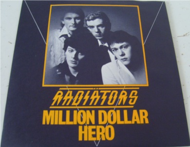 The Radiators From Space - Million Dollar Hero 7 Inch Vinyl