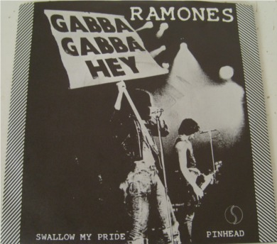 The Ramones - Swallow My Pride 7 Inch Vinyl - Mint