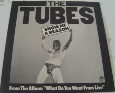 The Tubes - Show Me A Reason 7 Inch Vinyl