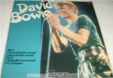 David Bowie - Heroes / Heroes(French version) 7 Inch Vinyl