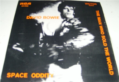 David Bowie - Space Oddity - Portuguese pressed 7 Inch Vinyl