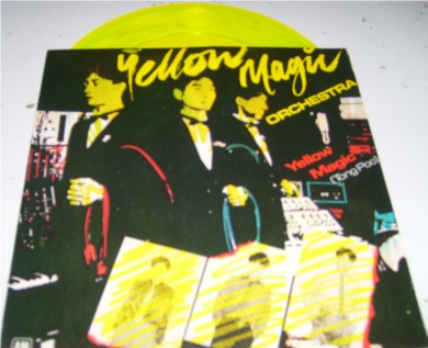 Yellow Magic Orchestra - Yellow Magic (Tong Poo) 7 Inch Yellow Vinyl