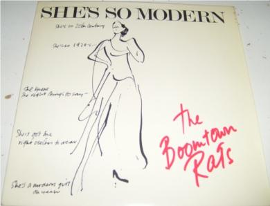 The Boomtown Rats - She's So Modern 7 Inch Vinyl