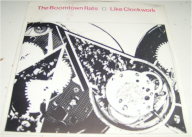 The Boomtown Rats - Like Clockwork 7 Inch Vinyl