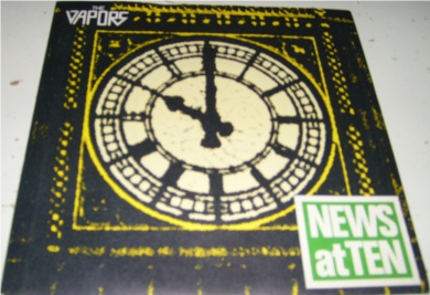 The Vapours - News At Ten 7 Inch Vinyl