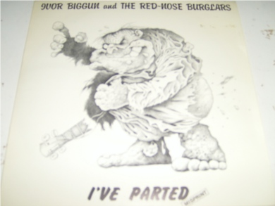 Ivor Biggun & The Red Nose Burglars - Hello My Baby 7 Inch Vinyl