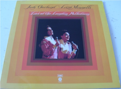 Judy Garland & Liza Minnelli - Live At The London Palladium 12 Inch Vinyl