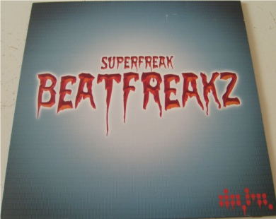 Superfreakz - Beatfreakz 12 Inch Vinyl