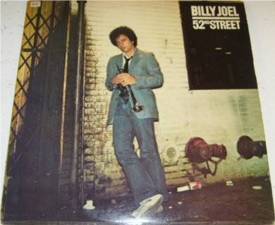 Billy Joel - 52nd Street 12 inch vinyl