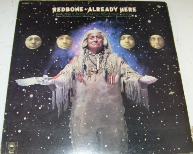 Redbone - Already Here 12 inch vinyl