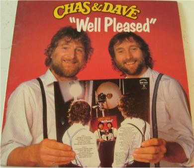 Chas & Dav - Well Pleased 12 inch vinyl