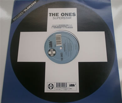 The Ones - Superstar / Flawless 12 inch vinyl