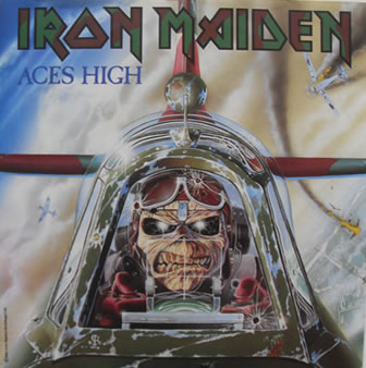 Iron Maiden - Aces High 7 Inch Vinyl