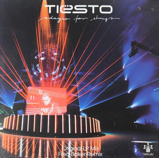 DJ Tiesto - Adagio For Strings 12 inch vinyl