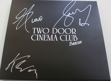 Two Door Cinema Club - Beacon - DELUXE C.D SET SIGNED BY THE WHOLE BAND