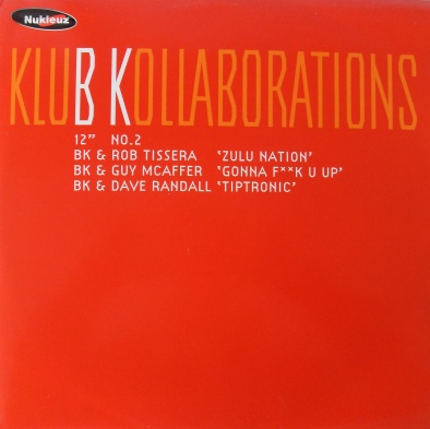 BK - Klub Kollaborations No.2 12 inch vinyl