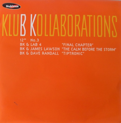 BK - Klub Kollaborations No.3 12 Inch Vinyl