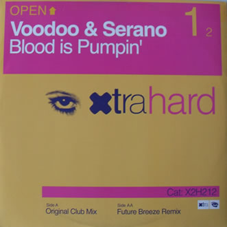 Voodoo And Serano - Blood Is Pumping 12 Inch Vinyl