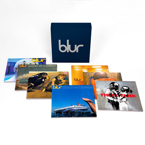 Blur - 21: The Vinyl Box 7 x 12 Inch Vinyl