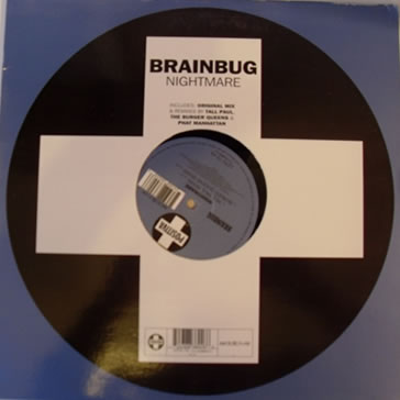 Brainbug - Nightmare 12 inch Vinyl