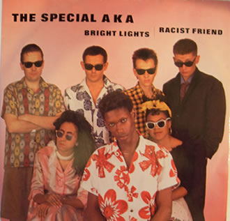 The Special AKA  - Bright Lights | Racist Friend 12 Inch Vinyl