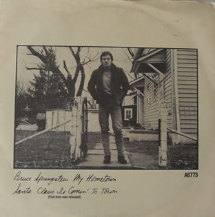 Bruce Springsteen - My Hometown 7 Inch Vinyl