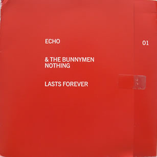 Echo And The Bunnymen - Nothing Lasts Forever 7 Inch Vinyl