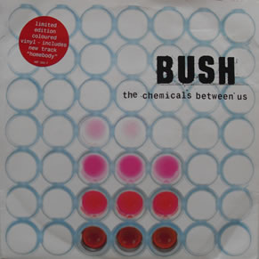 Bush - The Chemicals Between Us 7 Inch Coloured Vinyl
