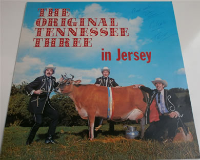 The Original Tenessee Three - In Jersey 12 Inch Signed Vinyl